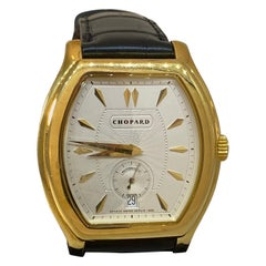 Chopard L.U.C Prince Tonneau Shape Silver Dial Automatic Men's Watch 16/2267