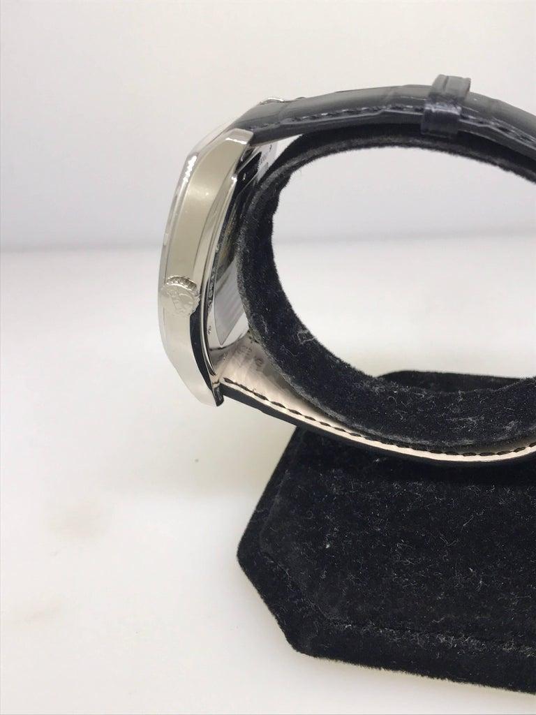 Chopard L.U.C White Gold Tonneau Shape Silver Dial Automatic Men's Watch 16/2267 For Sale 6