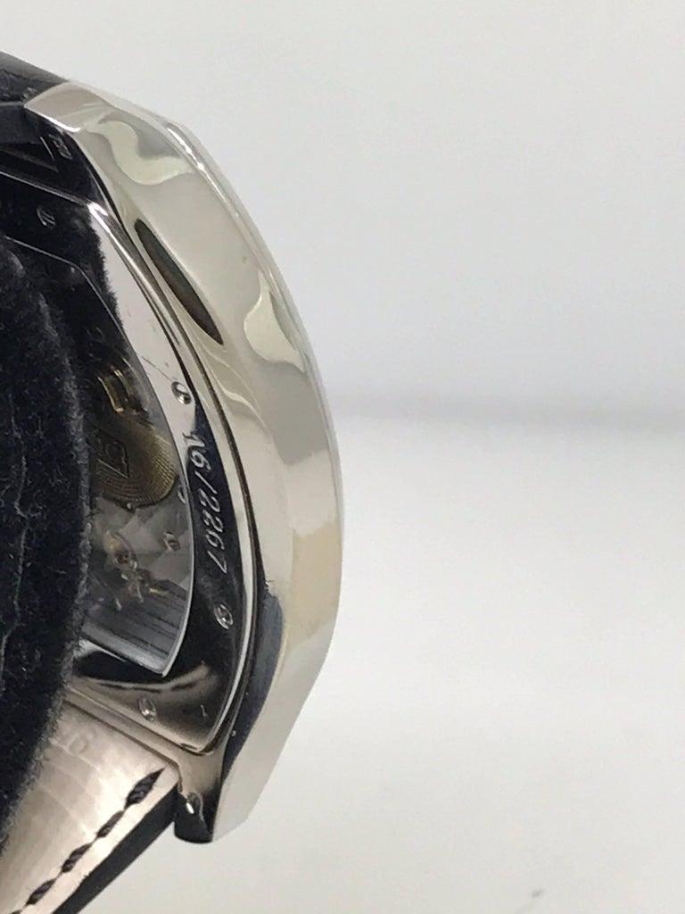 Men's Chopard L.U.C White Gold Tonneau Shape Silver Dial Automatic Men's Watch 16/2267 For Sale