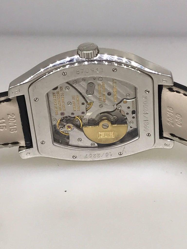 Chopard L.U.C White Gold Tonneau Shape Silver Dial Automatic Men's Watch 16/2267 For Sale 3