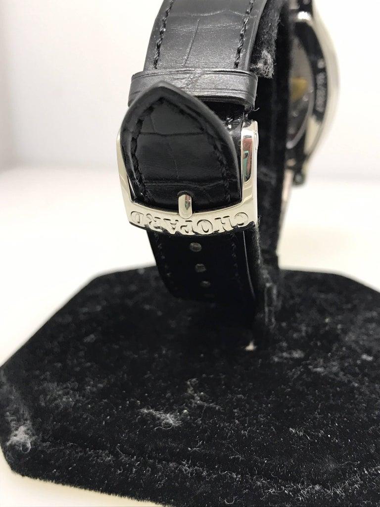 Chopard L.U.C White Gold Tonneau Shape Silver Dial Automatic Men's Watch 16/2267 For Sale 5