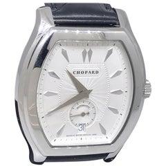 Chopard L.U.C White Gold Tonneau Shape Silver Dial Automatic Men's Watch 16/2267