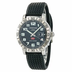 Chopard Mille Miglia 8955 Men's Automatic Watch Stainless Steel Black Dial