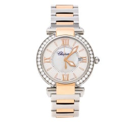 Chopard Mother of Pearl 18K Rose Gold Stainless Steel Women's Wristwatch 36 mm