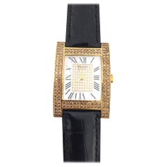 Chopard Mother of Pearl and Diamond Yellow Gold Watch 17/3451/55