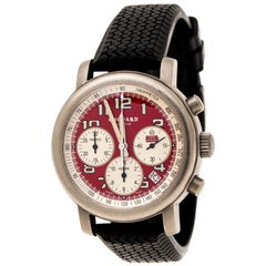 Chopard Red Titanium Mille Miglia Rosso Limited Edition Men's Wristwatch 40 mm