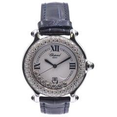 Chopard Stainless Steel Happy Sport 7 Floating Diamond Ladies Watch