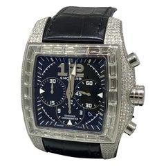 Chopard Two O Ten Diamond Case Black Dial Automatic Men's Watch 17/2272-1001