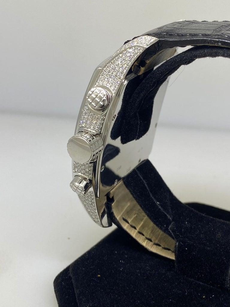 Chopard Two O Ten Diamond Case Black Dial Automatic Men's Watch 17/2272-1001 For Sale 2