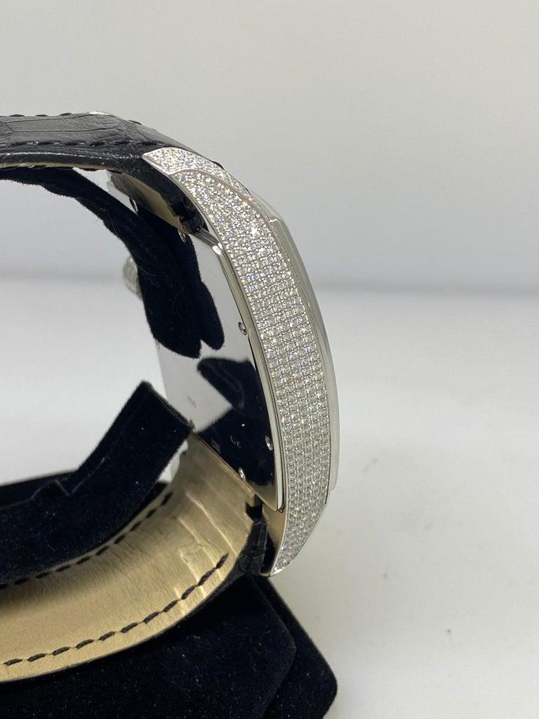Chopard Two O Ten Diamond Case Black Dial Automatic Men's Watch 17/2272-1001 For Sale 3