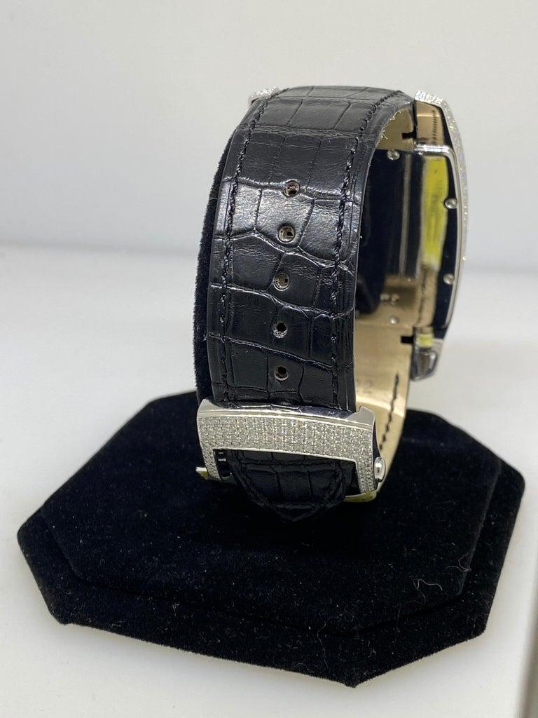 Chopard Two O Ten Diamond Case Black Dial Automatic Men's Watch 17/2272-1001 For Sale 4