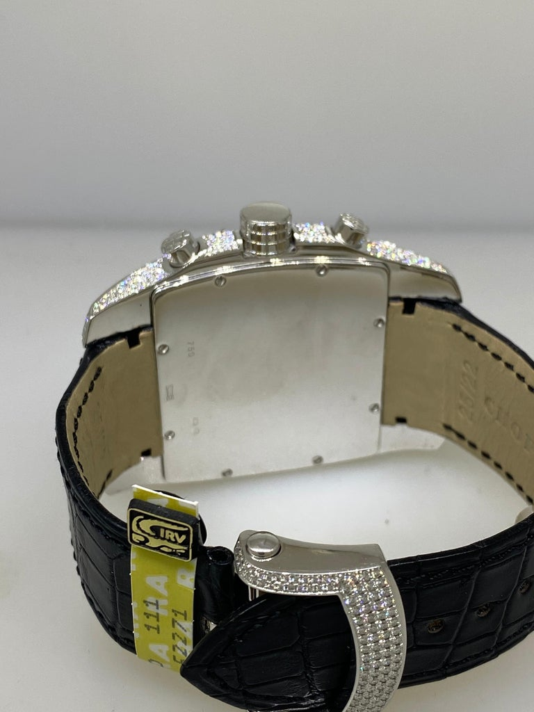 Chopard Two O Ten Diamond Case Black Dial Automatic Men's Watch 17/2272-1001 For Sale 5