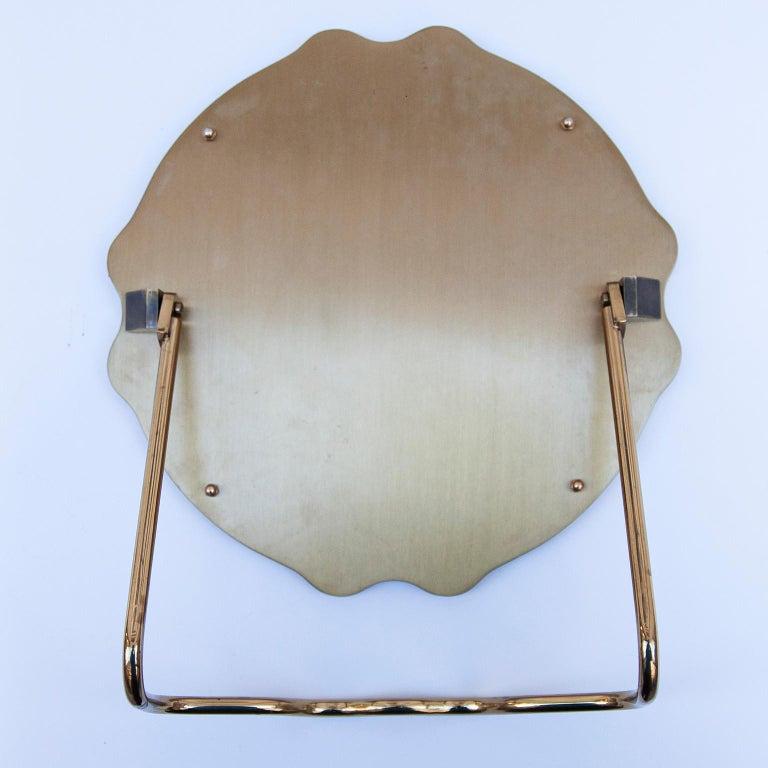 Brass Chopard Vintage Vanity Mirror St.Moritz For Sale