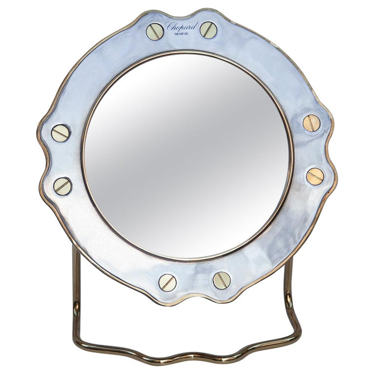 Chopard Vintage Vanity Mirror St.Moritz For Sale