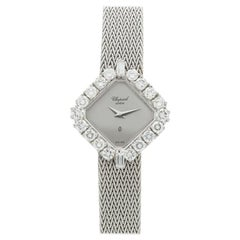 Chopard White Gold and Diamond Dress Watch 5161