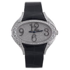 18kt White Gold and Diamond Chopard Wristwatch