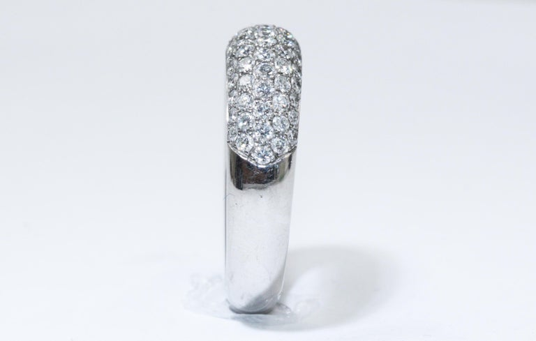 Chopard White Gold Diamonds Ring For Sale 1