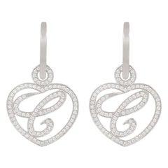 18k Gold Drop Earrings