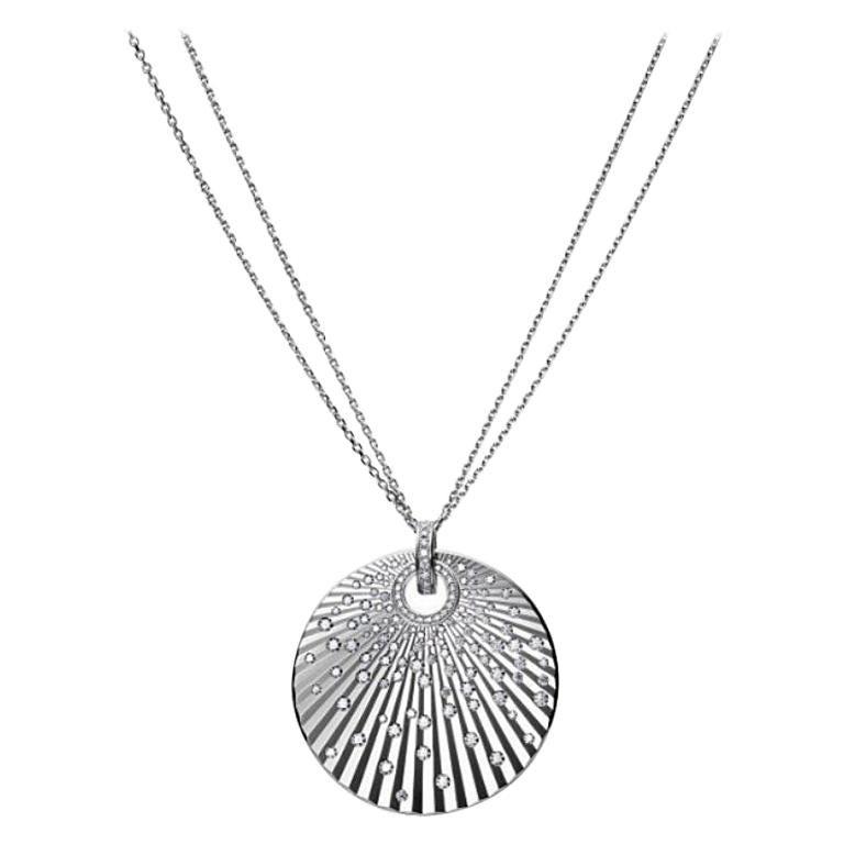 Chopard Xtravaganza White Gold Diamond Necklace