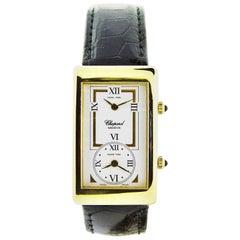 Chopard Yellow Gold Dual Time Zone Quartz Watch