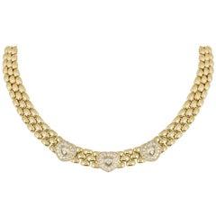 Chopard Yellow Gold Happy Diamonds Necklace 81/1006-20