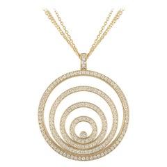 ChopardYellow Gold Happy Spirit Diamond Pendant 79/5430/0-2