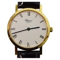 Chopard Yellow Gold Men's Dress Wrist Watch