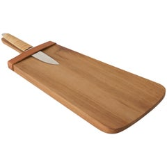Chopping Board with a Knife by Carl Auböck