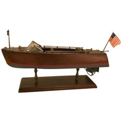 Chris Craft Miniature Model Boat