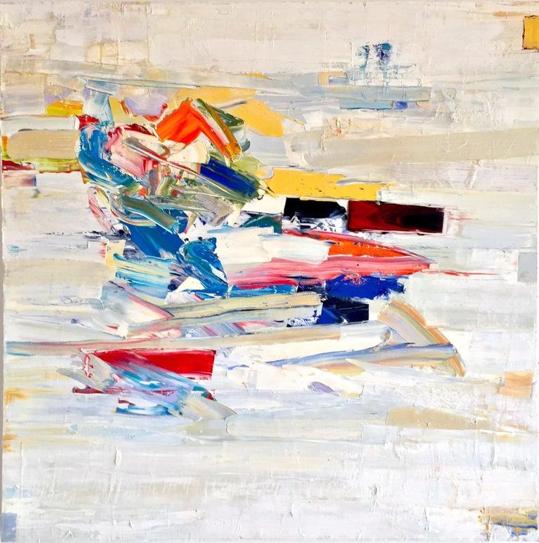 Chris Hayman Abstract Painting - Razzle