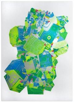 Chris Keegan, Silver Gem, Limited Edition Print, Contemporary Art