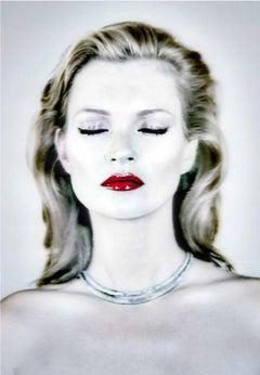 She's Light (Pure), Chris Levine, Kate Moss Archival Inkjet Print