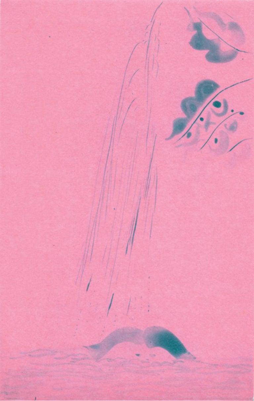 Chris Ofili Landscape Print - Rainbow-Paragon Pink