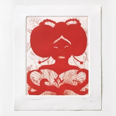 Untitled, Etching, Aquatint, Drypoint, Contemporary Art, 21st Century
