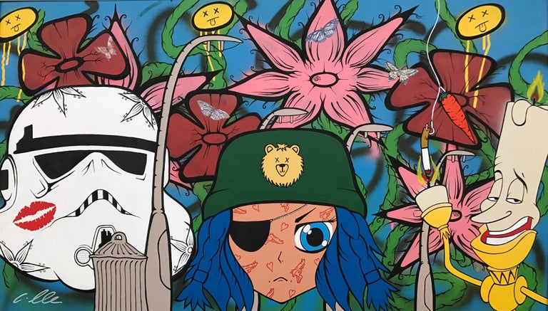 The Good The Bad & The Ugly Pop Art by British Urban Graffiti Artist For Sale 2