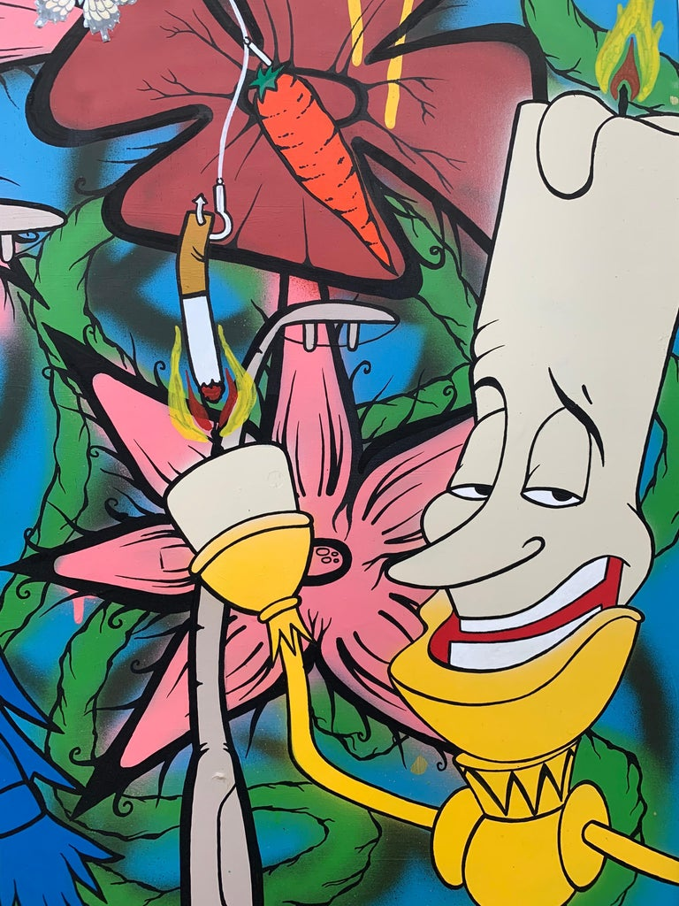The Good The Bad & The Ugly Pop Art by British Urban Graffiti Artist For Sale 3