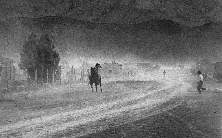 Chris Regas Figurative Photograph - Ahead of the Storm, Boquillas, Mexico