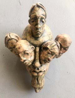 Expressionist Wall Sculpture by Chris Riccardo