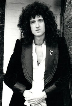 Brian May of Queen Candid Vintage Original Photograph