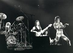 Iconic Queen Performing Vintage Original Photograph