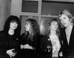 Stevie Nicks Visits Heart Backstage in Los Angeles Vintage Original Photograph