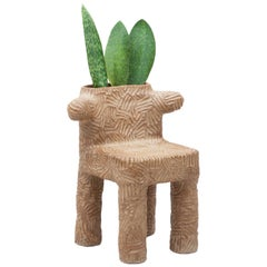 "Chris Wolston Ceramic Plant Chair ""Tolima"""