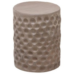 "Chris Wolston Ceramic ""Stump"" Stool or Side Table"