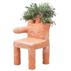 "Chris Wolston Terracotta ""Colibri Plant Chair"""