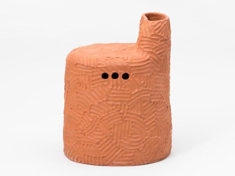 Contemporary Chris Wolston Terracotta