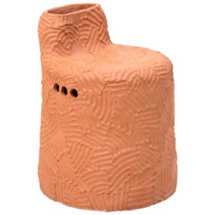 "Chris Wolston Terracotta ""El Bosque Plant Chair"""