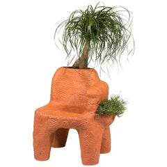 Chris Wolston Terracotta 'Topanga Plant Chair'