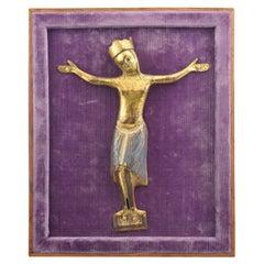 Christ 'Corpus Christi', Gilt Copper, Enamel, Jet 'Stone', Limoges, 13th Century