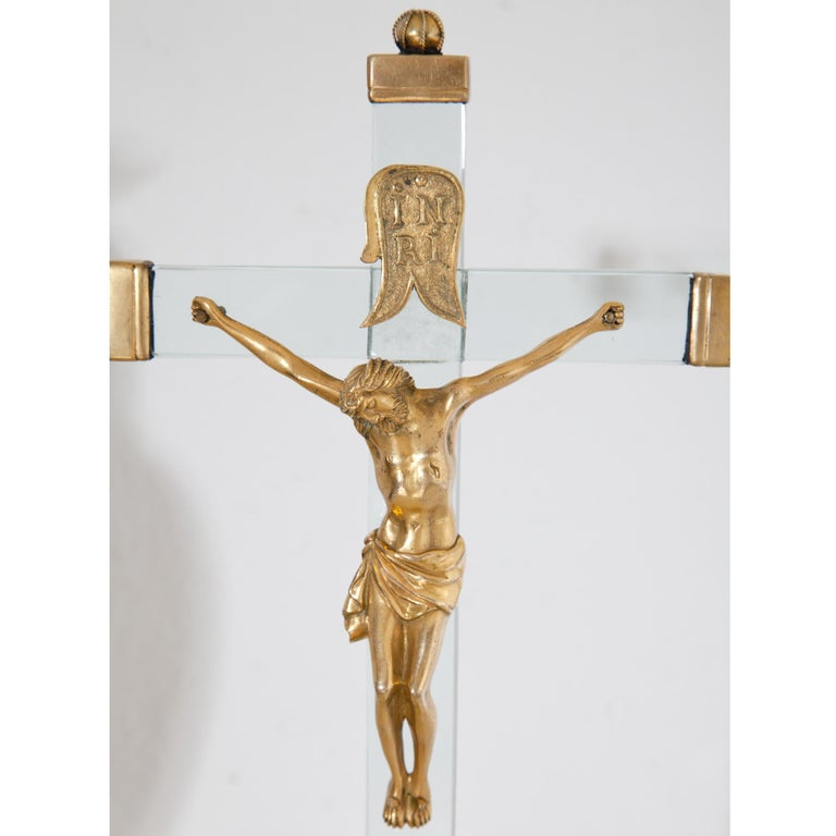 Christ on the Cross with Mary, 18th Century In Good Condition For Sale In Greding, DE