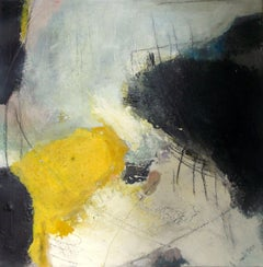 Landscape abstract - 2 continents, Painting, Acrylic on Canvas